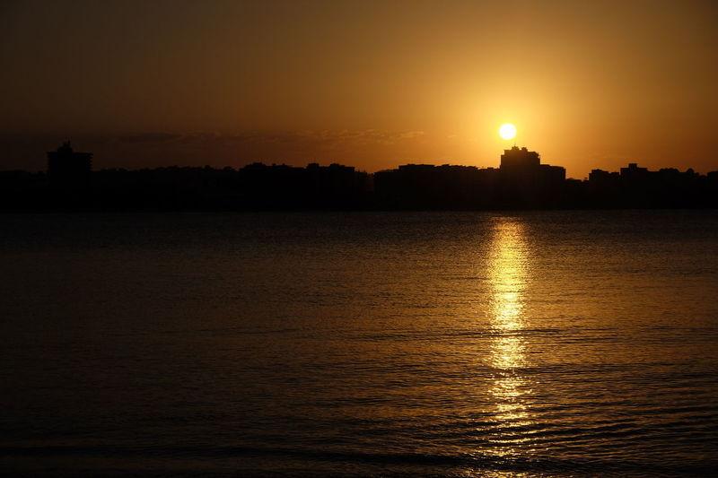 Sunset Tranquility Silhouette Travel Destinations Sunshinecoast Scenics sunshinecoastturfclub Horizon Brisbane Brisbane River