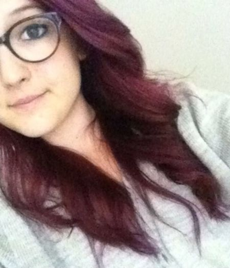 purple hair