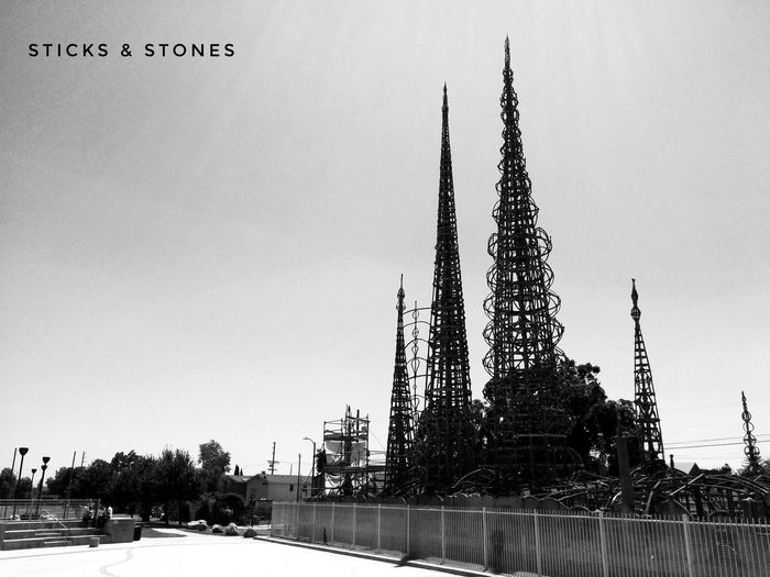 Watts Towers Los Angeles, California Los Angeles Life California Exploring Explore Art Sculpture Plaza Sky High Two Towers