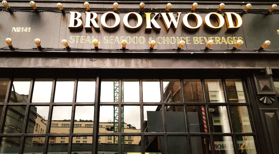 Brookwood Restaurant Reflected Glory Reflection_collection Real Photography Ireland🍀 Dublin Quality Cut Building Buildinglover Getting Inspired Up Close Street Photography Street Photography Streetphotography Well Turned Out Architecture Popular The Great Outdoors With Adobe Streetart