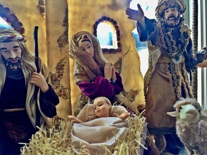 Statue Nativity Nativity Scene NativityScene Nativity Figurine Jesus Jesus Christ Jesuschrist Baby Jesus Baby Jesus Was Born Mary Virgin Mary Holy Family Christianity Christmas Time Christmas