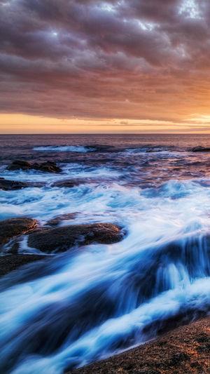 Sunset Sea Colors Water Horizon Over Water Relaxing Nikon Dawn Fog Nature Morning Light And Shadow Cloud - Sky Yellow HuaweiP9 Summer Croatia Zadar Colorsplash Music Rock N Roll