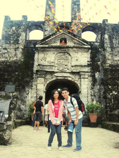 Fort San Pedro With A Friend Spanish Architecture Philippines