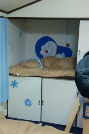 New em-bed-ded! Japan Doraemon Futon Closet Drawing Ingenious Cozy OSAKA