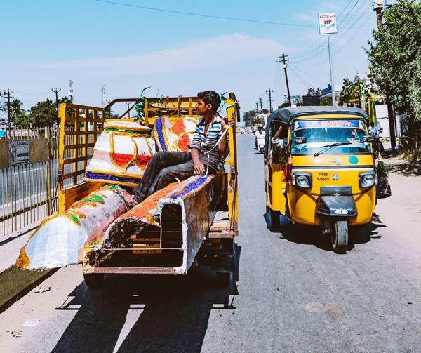 A city truck