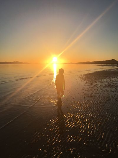 Beach Scotland EyeEm Nature Lover Eyeem Scotland  Sunset Sand Islands Coastal Childhood Magazine