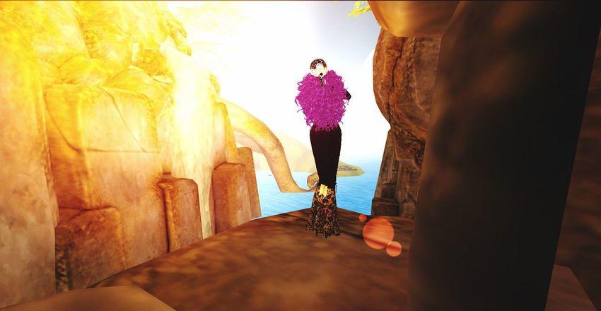 Sundays at Designing World Studios, Garden of Dreams, *G.O.D, Secondlife Traveler Virtual World Secondlife Virtual Reality Women One Person Lifestyles