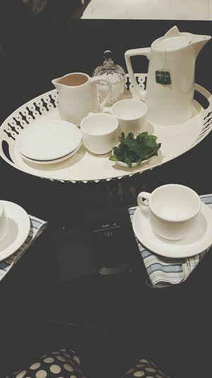 tea with sister Teatime