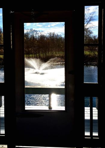 Finding New Frontiers Fountain Pond Pondhouse Tranquil Scene The Secret Spaces