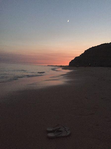 EyeEm Selects Beach Sunset Tranquility Beauty In Nature Idyllic