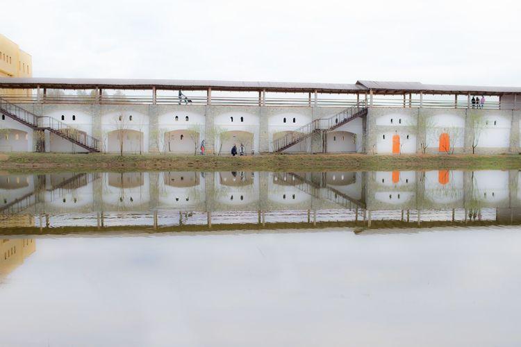 No People Water Waterfront Nautical Vessel Day Landscape Landscape_Collection Reflection Reflections Reflections In The Water Slava Olshevskaya