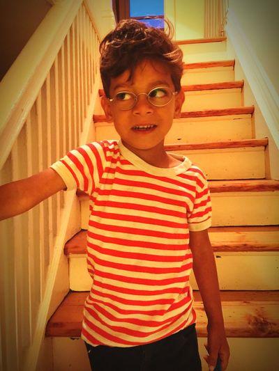 Where's Waldo? My little guy! Mykid