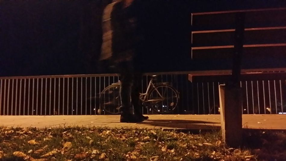 No People Outdoors Night Bike Healthy Lifestyle Bike Lover On The Move Blurred