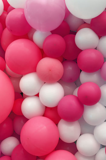 Colorful white and pink baloons background, close up Large Group Of Objects Full Frame Backgrounds Multi Colored Balloon Celebration Ball Choice White Color Festival Season Pink Living Coral White Celebration Event Celebration Happy Happy Holidays Background Baloon Baloons🎈 Decoration Decorative Decor Street