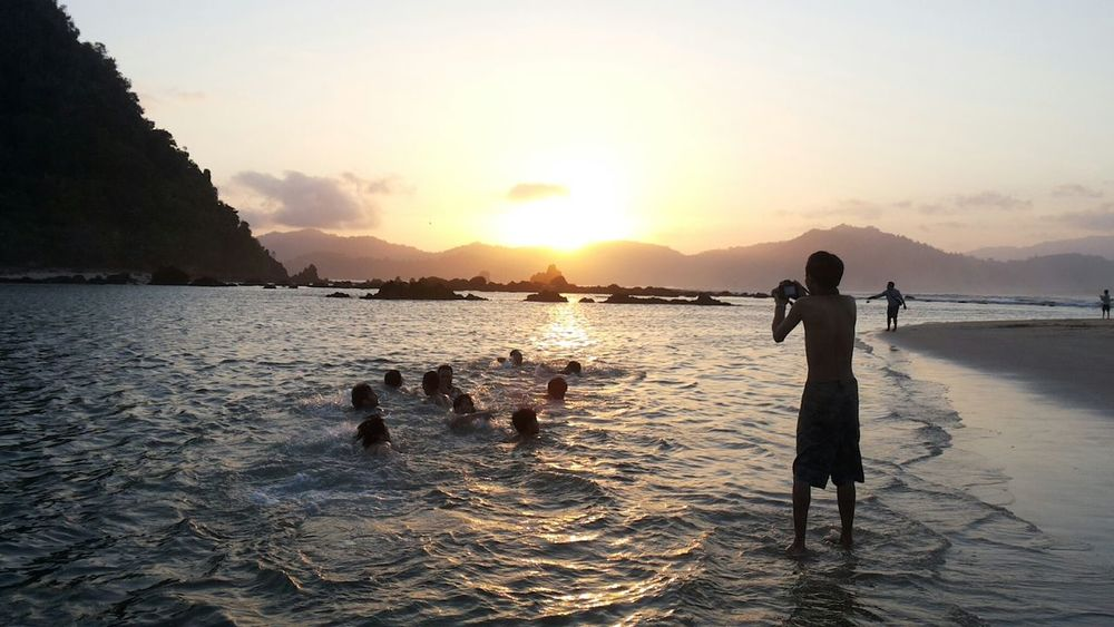 Collected Community Red Island Banyuwangi INDONESIA