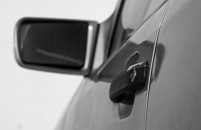 Car Car Door Close-up Connection Day Focus On Foreground Land Vehicle Luxury Mode Of Transportation Motor Vehicle No People Outdoors Protection Reflection Security Selective Focus Side-view Mirror Technology Transportation Travel Vehicle Interior