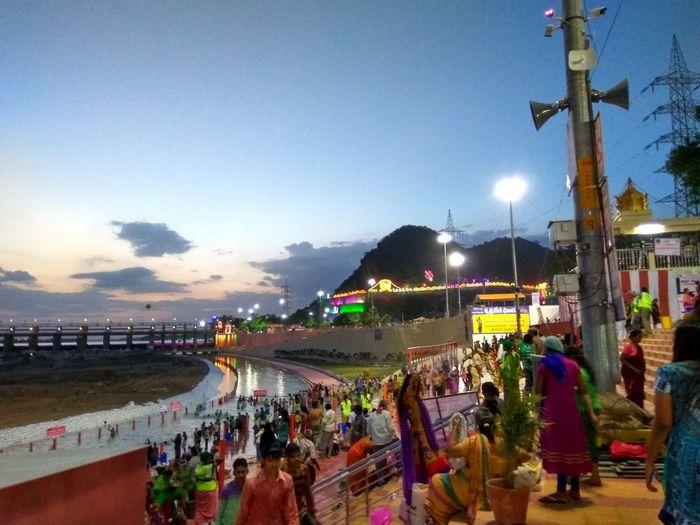 Vijayawada Pushkaralu Lights Nature_collection