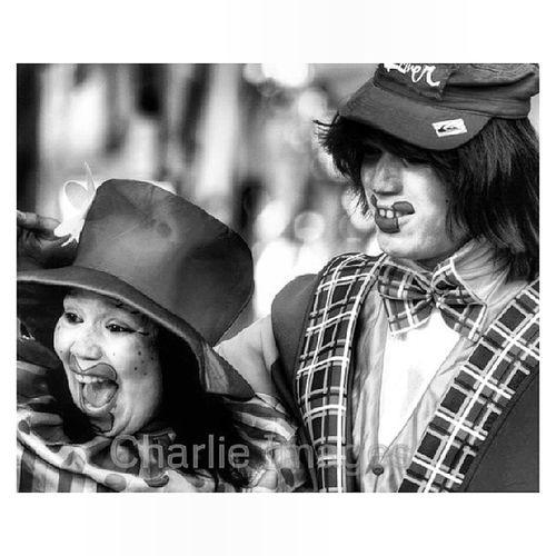 Payasos [Photo/Charlie Images] Clown Carnival Streetphoto Photojournalism