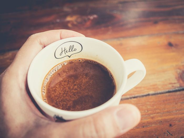 Coffee Coffee Cup Day Morning Well  Relaxing Relaxation Good Hello Close-up Drink Cup Coffee - Drink Refreshment Relax