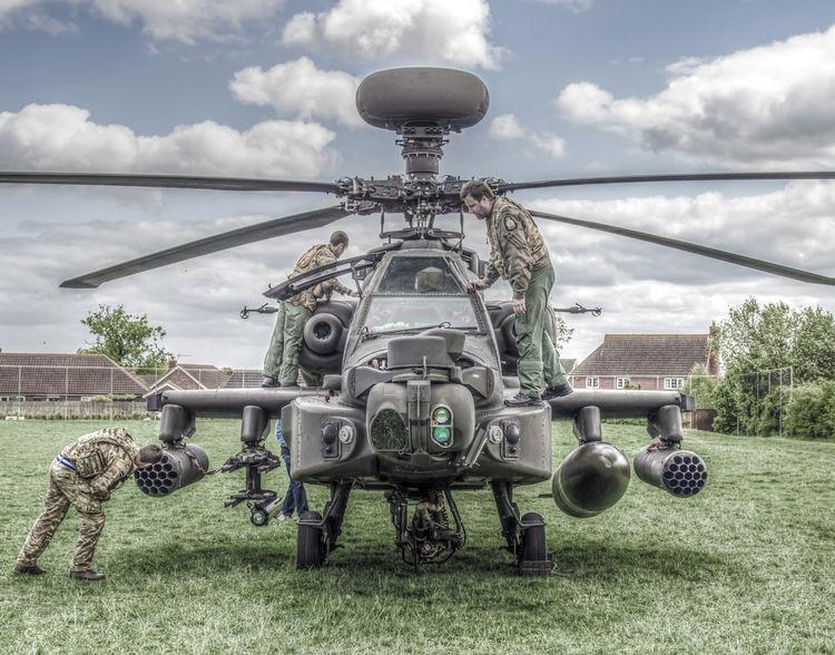 Apache Apache Helicopter Cloud Cloud - Sky Cloudy Day Helicopter Helicopter View  Helicopters Military Outdoors Sky Stowmarket Suffolk
