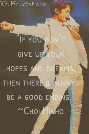 daazling boy~ Choi Minho Shinee Shineeworld Kpop Quotes First Eyeem Photo
