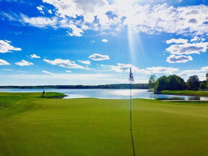 Golf Beauty In