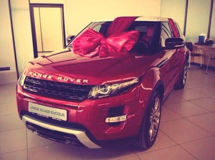 Oo yehh Car Beautiful Red Present