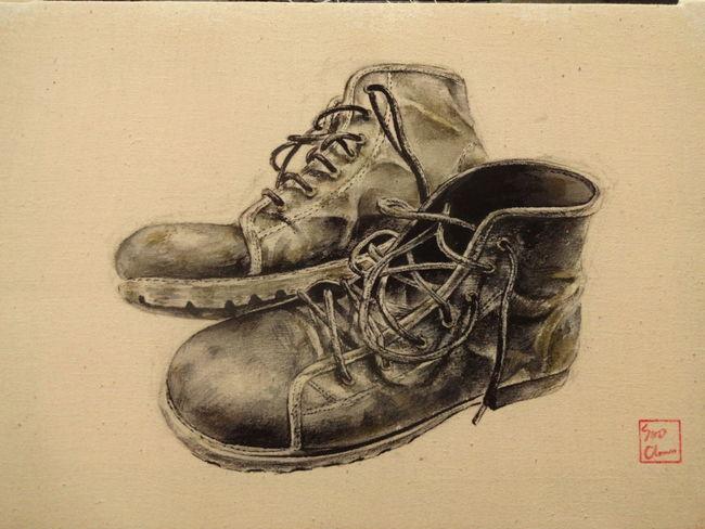 Painting Walker Walkingshoes Paint Esedy