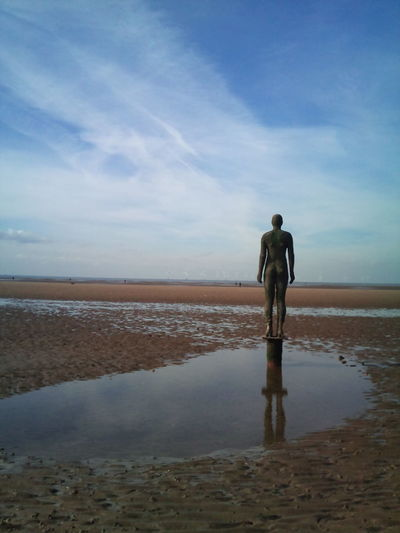 Crosby Beach Sculpture Sculptures By The Sea Sculpture Art Figurephotography Crosby Beach Figure Beach Beauty In Nature Day Full Length Horizon Over Water Landscape Leisure Activity Lifestyles Men Nature Outdoors Real People Rear View Sand Scenics Sea Silence Sky Standing Tranquil Scene Tranquility Water