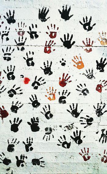 Taking Photos Street Art Enjoying Life Wall
