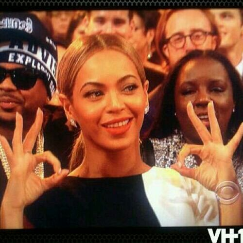 Bey Keepin It Gee At The Grammys