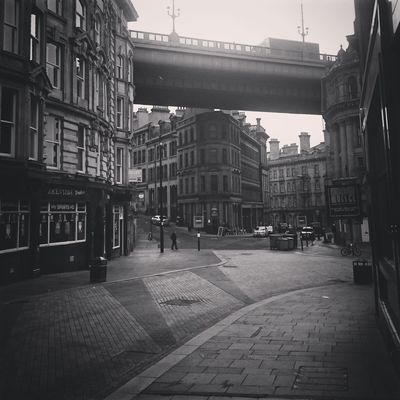 Building Exterior City Architecture Built Structure Outdoors Day Sky People Newcastle Upon Tyne Blackandwhite Cityscape Urban Bridge Tyne Bridge Victorian Architecture Victorian Timeless