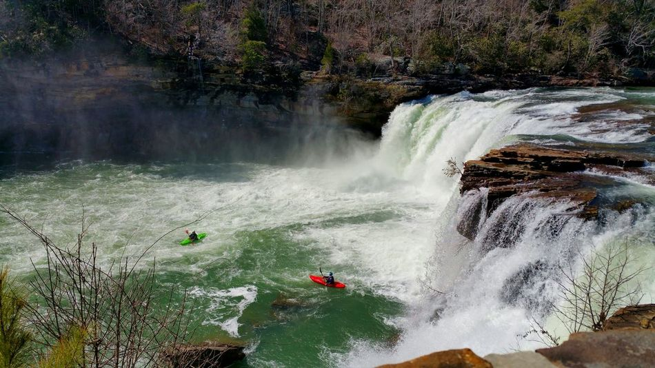 Showcase March Kyaking Fall Water_collection Waterfall Waterfall_collection Sport Man And Nature Nature_collection Outdoor Life Beautiful Nature Outdoor Photography Simplicity Simple Beauty Serene Outdoors Enjoying Life Landscape With Whitewall