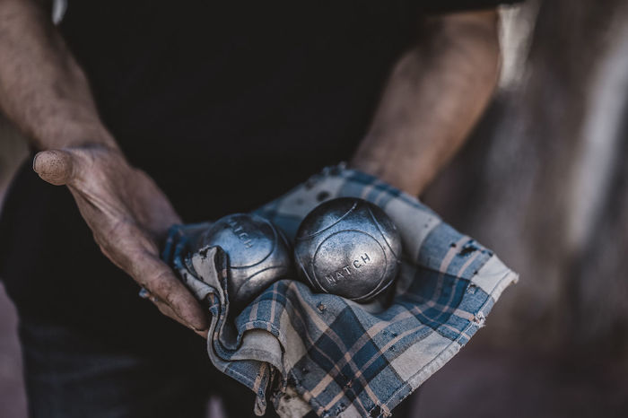 Petanque Boules Pétanque Human Body Part People Human Hand Close-up Holding Adults Only The Week On EyeEm Worn Out Second Acts The Still Life Photographer - 2018 EyeEm Awards