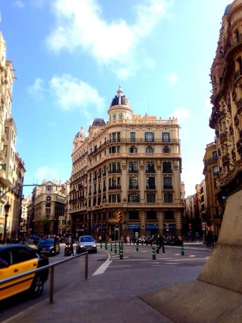 Architecture at Barcelona 、 SPAIN .I like this Cityscapes . Beautiful