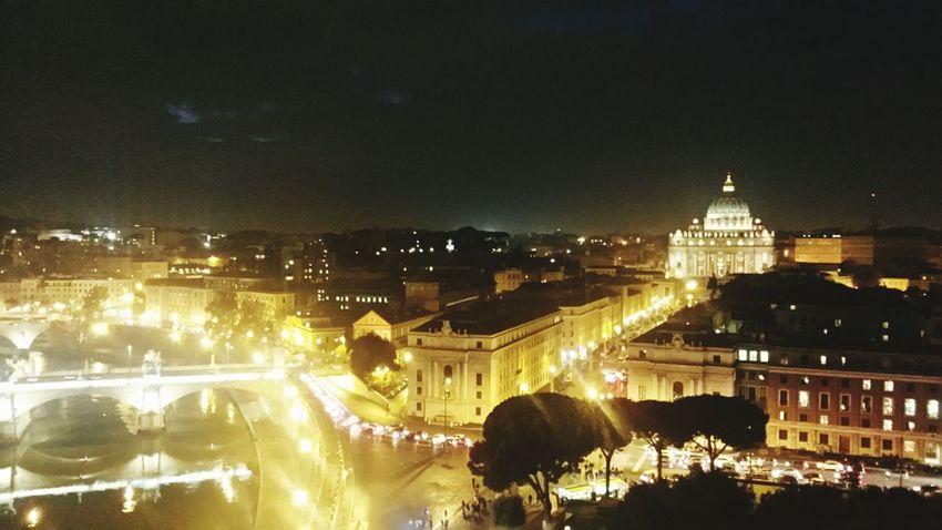 Rome BasilicaDiSanPietro Castelsantangelo Citybynight Roma SPQR