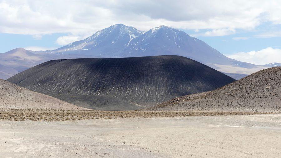 Volcano in