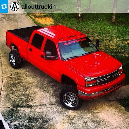 Repost from @allouttruckin with @repostapp love the off set and look of this truck? --- @Calebclark75 Truckinallout @eightlugmafia