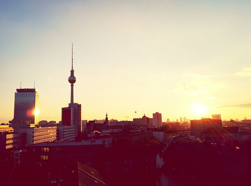 Golden Hour Sunset Chilling Soistberlin