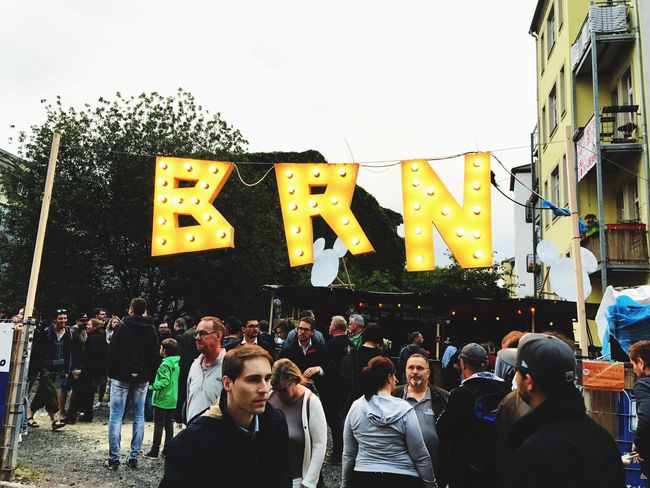 Brn Dresden / Germany Party Time Building Exterior Real People Day Adults Only Friendship