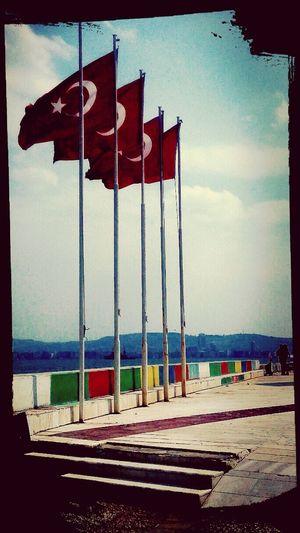 Dalgalan Ey ŞANLI Hilal  Anlisanli Turk Bayragi