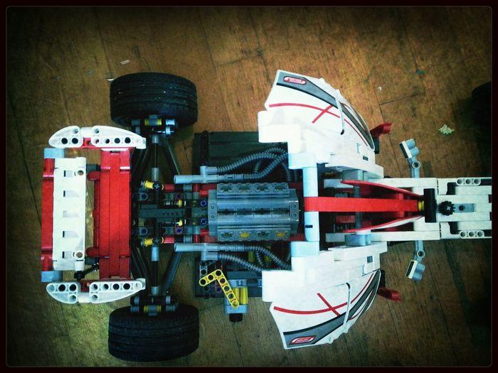 Lego gpracer finished