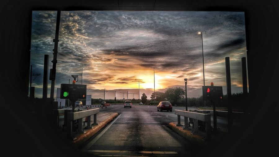 Philippinesphotography briggzphotos tollway hi-way sunset roadtrip