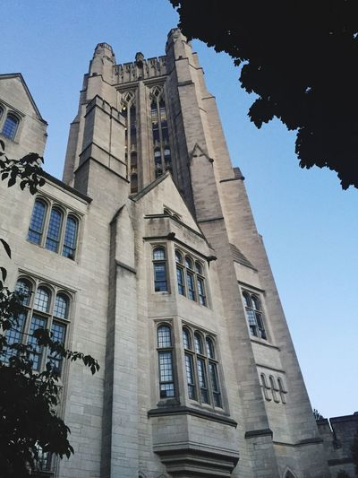 On Travel On The Road New Haven, CT Yale University Architecture Built Structure Building Exterior Low Angle View Building Sky The Past Travel Destinations History Travel City Tourism