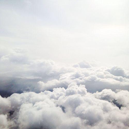 le ciel, tout simplement Ciel Sky Clouds Plane Nuages World