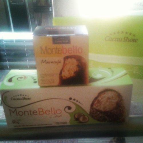 Chocolate é vida! Ainda mais Cacau Show!!! Nhaaaaac! Choc Chocolate Life Love Cacaushow Montebello Marshmallow Maracujá Coco Nhac Gordisseon