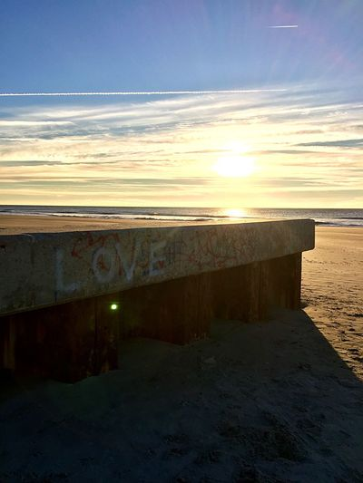 All You Need Love Wins Love Is All You Need Love Graffiti Sunset Nature Sea Beach Sky Scenics Tranquil Scene