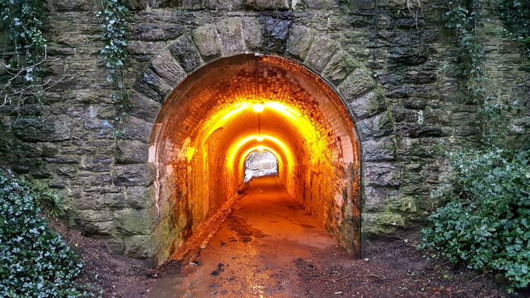 Goal Destination Reach Your Goal Goals 💪 Focus Tunnel Tunnel Vision Aim Future Bright Future Orange Pattern Pieces