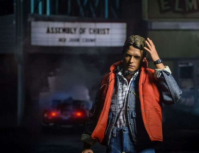 """""""Tomorrow was a much better day"""" Backtothefuture Toyphotography Hottoys Figure 80s Michaeljfox"""