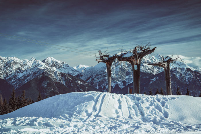 Tyrol Love Ggaßler Zeisslens Sony Photography Time Austria ❤ Hello World Tirol  Point Of View Winter Cold Temperature No People Mountain Landscape Tree Ski Lift Sky Day Outdoors Nature